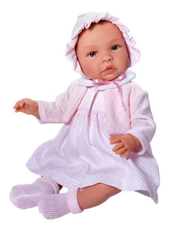 Asi Leonora med rosa kjole og bolero