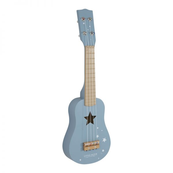 Gitar i adventure blue fra Little dutch