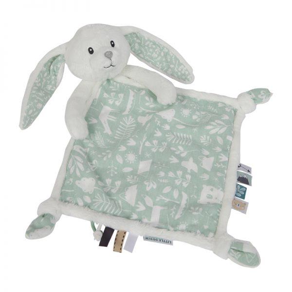 Koseklut kanin mint Little Dutch