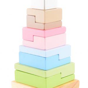 Stabletårn i tre