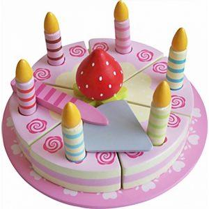 bursdagskake i tre fra magni imagetoys