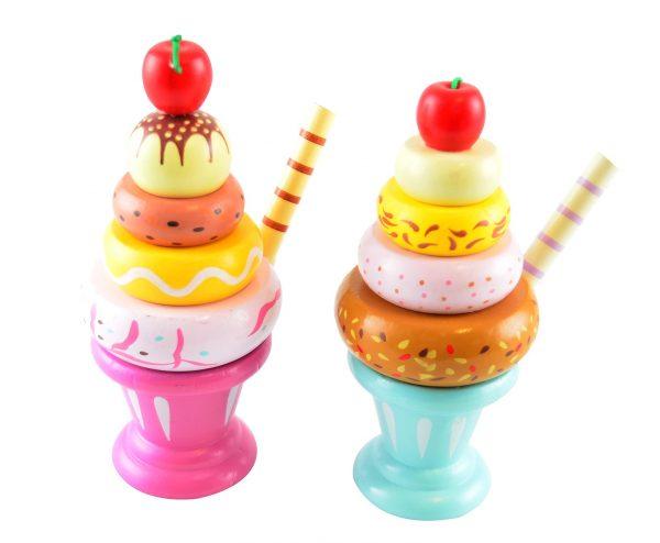iskrem i tre fra Magni Imagetoys