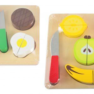 skjærebrett puslespill frukt kjøtt fra magni imagetoys