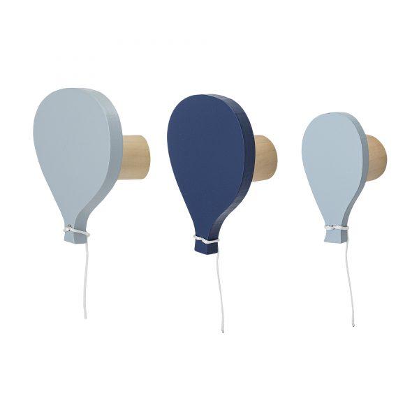 Blå Ballong - knagger fra Bloomingville Mini