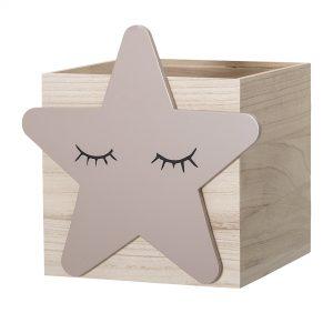 Oppbevaringskasse med stjerne fra Bloomingville Mini