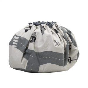 Oppbevaringspose & Leketeppe i ett