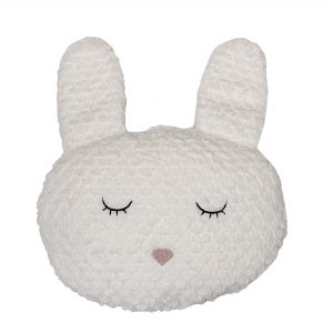 Hvit kaninpute fra Bloomingville Mini