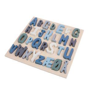 ABC-puslespill fra Sebra