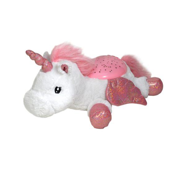 Nattlys Twilight Buddies Winged Unicorn fra Cloud B