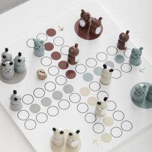 Ludospill i tre fra Kids Concept