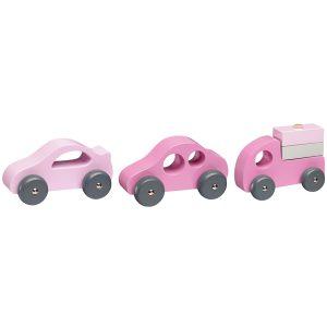 Trebiler 3-pk rosa fra Kids Concept