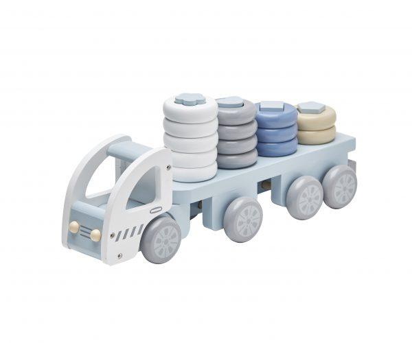 Lekelastebil med stableklosser fra KidsConcept