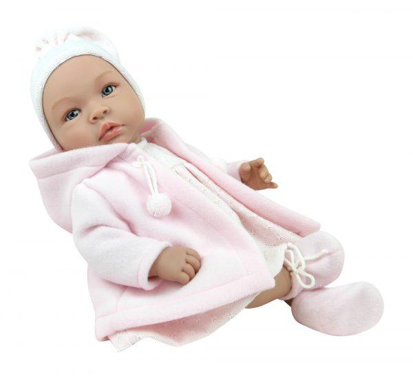 Asi Leonora med rosa duffelcoat
