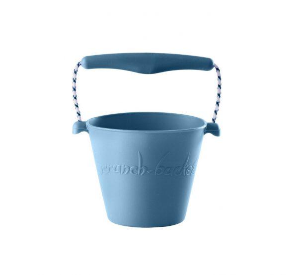 Scrunch lekebøtte lys blå