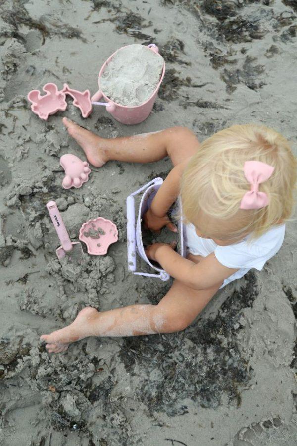 Scrunch sandformer rosa