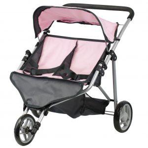 Mini Mommy Tvillingdukkevogn