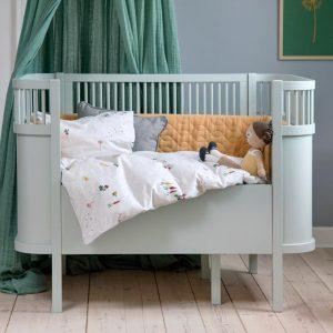 Sebra Jersey Sengesett Garden - Baby