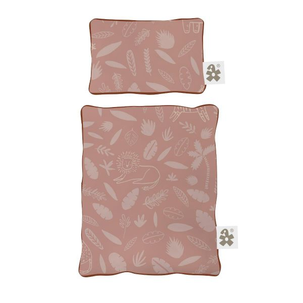 Sebra Dukkesengesett Wildlife - Sunset Pink