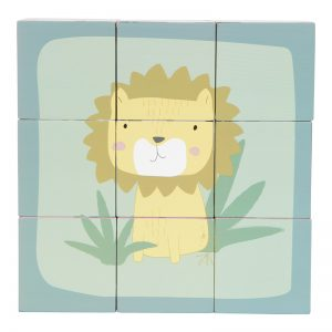 Little Dutch Klossepuslespill - Zoo