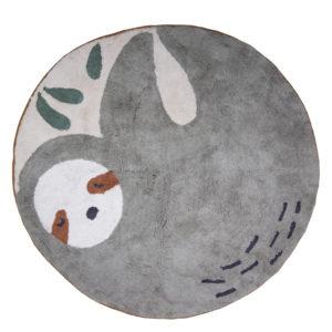 Sebra vevet gulvteppe - Dovendyret Lacey