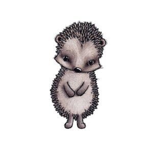 Stickstay Iggy the hedgehog wallsticker