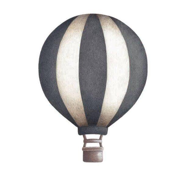 Stickstay dark blue vintage balloon wallsticker