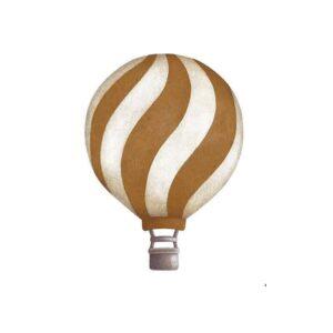 Stickstay dark mustard vintage balloons set wallstickers wavy balloon