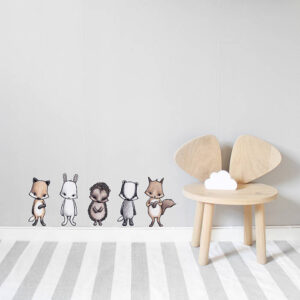 Stickstay Rocky the fox forest gang wallsticker