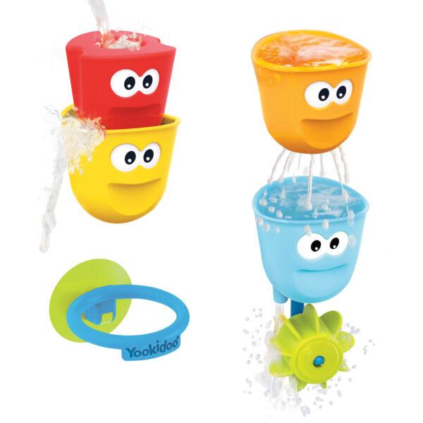 Yookidoo Fill 'N' Spill Action Cups - Badeleke
